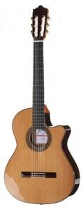 guitare classique à pan coupé