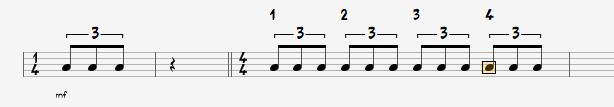 http://apprendre-la-guitare-debutant.com-Rythme-Triolet